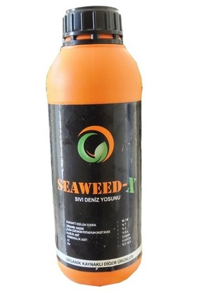 Bitki Direncini Artıran Seaweed-X Sıvı Deniz Yosunu 1 Litre