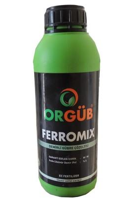 Ferromix Suda Çözünür Sıvı Demir Gübresi 1 Litre