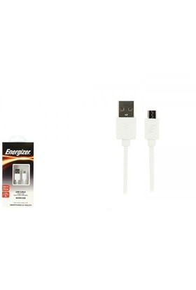 Energizer C12UBMCGWH4 1.2m Beyaz Micro USB Şarj kablosu