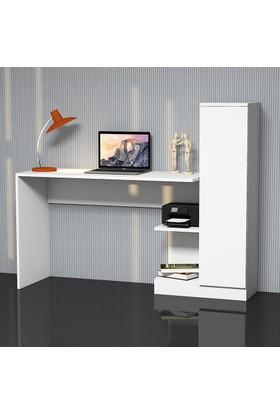 Hepsiburada Home Matilda Çalışma Masası Beyaz
