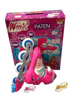 Winx Club Lisanslı Metal Ve Alıştırmalı Kız Çocuk Pateni 35-38