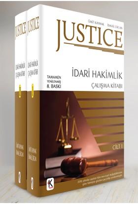 Justice İdari Hakimlik Çalışma Kitabı (2 Cilt) - İsmail Ercan