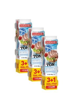 Dardanel Ton Balığı 80 Gr (4'lü Paket) x 3 Adet