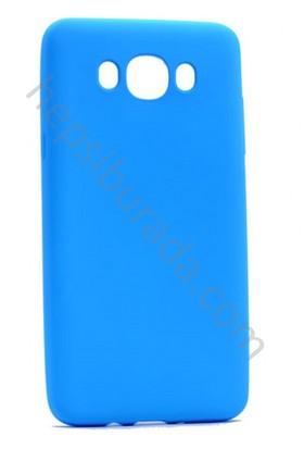 Case 4U Samsung Galaxy J710 2016 Premier İnce Silikon Kılıf Mavi