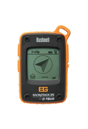 Bushnell Backtrack D-Tour Black Bear Grylls Edition Gps, Clam
