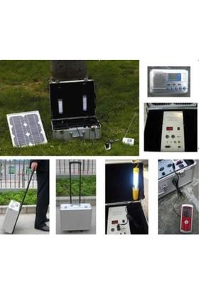 Greensolar 10W Çantalı Güneş Aydınlatma Seti And202