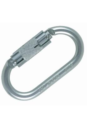 Ocun Oval Twist -Lock Steel Karabina