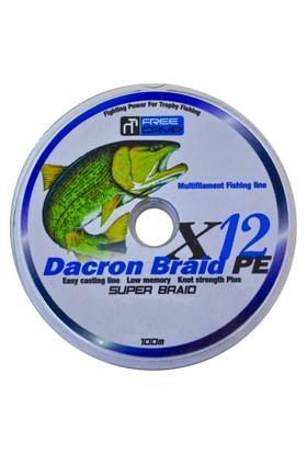 Freecamp Dakron 12 Braid Misina 0.40Mm 100Mt