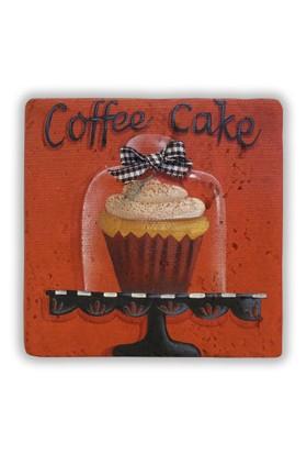 Oscar Stone Coffee Cake Taş Tablo