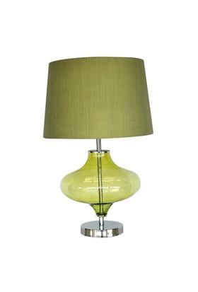 Saydam Abajur Yeşil -55x35 cm