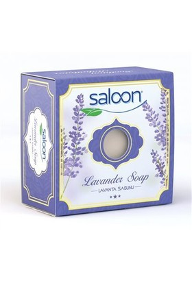 Saloon Doğal Sabun Lavanta Özlü 150 Gr &&