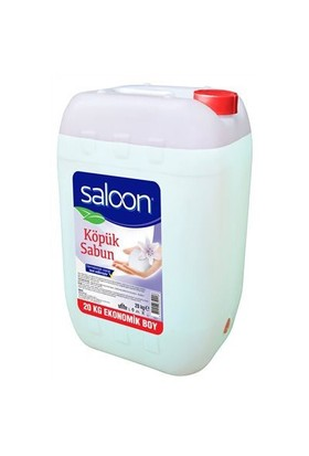 Saloon Köpük Sabun Şeffaf Floral 20 L