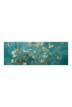 Abella Vincent Van Gogh Badem Çiçekleri Kanvas (Canvas) Tablo -120X40 Cm