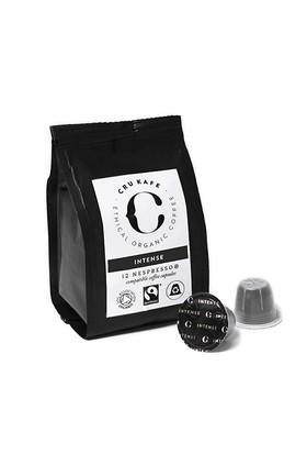 12 Adet Nespresso Uyumlu Organik Kapsul Kahve - Intense (Sertlik: 12)