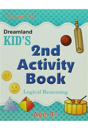 Dreamland Kid's 2nd Activity Book: Logical Reasoning (4)