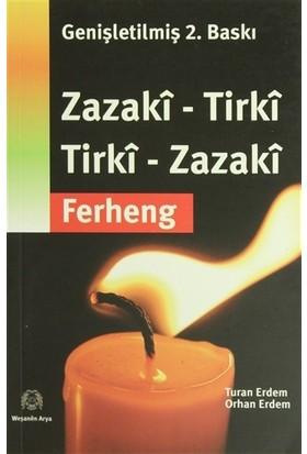 Zazaca-Türkçe, Türkçe-Zazaca Sözlük