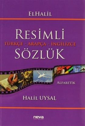 ElHalil Resimli Türkçe - Arapça - İngilizce Sözlük