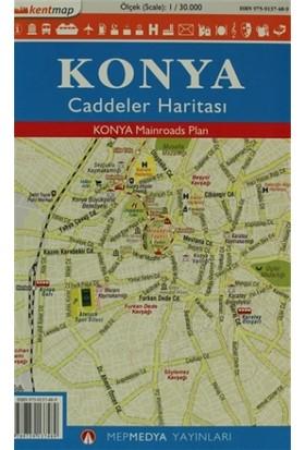Kentmap Konya Caddeler Haritası