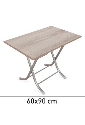 Prado Katlanır Masa 60x90cm Ceviz