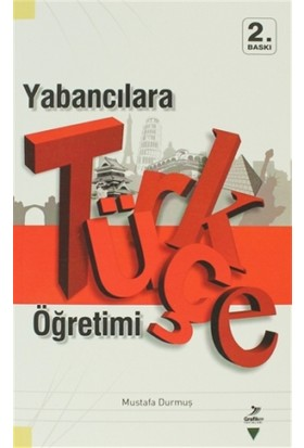 Yabancılara Türkçe Öğretimi - Mustafa Durmuş