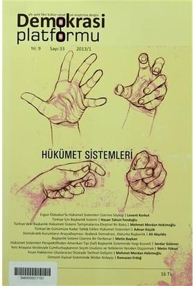 Hükümet Sistemleri - Demokrasi Platformu Sayı: 33