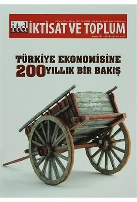 İktisat ve Toplum Dergisi Sayı: 39