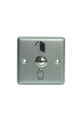 Marelli Paslanmaz İnox Çıkış Butonu (Geçiş Kontrol Sistemleri İçin)