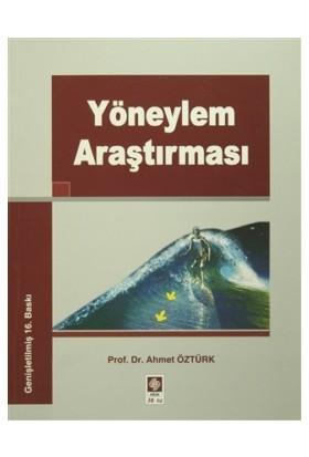 Yöneylem Araştırması - Ahmet Öztürk