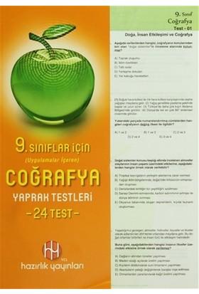 9. Sınıflar İçin Coğrafya Yaprak Testleri 24 Test