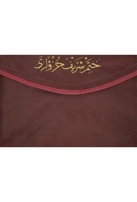 Rahle Boy Kur'an-ı Kerim Hatmi Şerif Cüzü (30 Cüz Kılıflı)