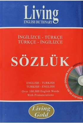 Living English Dictionary İngilizce - Türkçe Türkçe - İngilizce Sözlük
