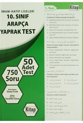 İmam - Hatip Liseleri 10. Sınıf Arapça Yaprak Test