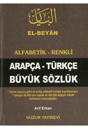Arapça-Türkçe Büyük Sözlük (Kod-050) - Arif Erkan
