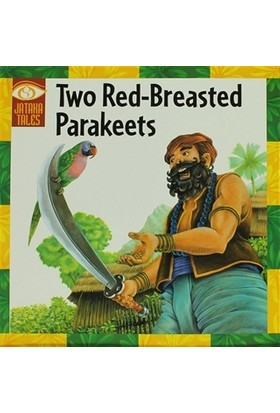 Two Red - Breasted Parakeets