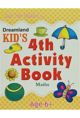 Dreamland Kid's 4 th Activity Book: Maths (6)