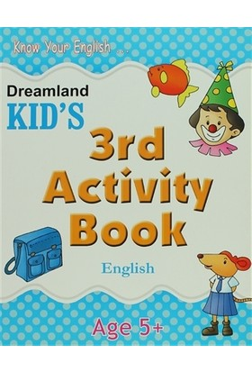 Dreamland Kid's 3rd Activity Book: English (5)