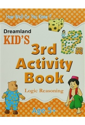 Dreamland Kid's 3 rd Activity Book : Logic Reasoning (5)