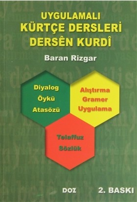 Uygulamalı Kürtçe Dersleri / Dersen Kurdi - Baran Rizgar