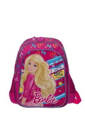 Barbie Çocuk Okul Çantası 62743 Pembe 27*37*14
