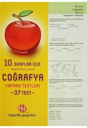 10. Sınıflar İçin Uygulamalar İçeren Coğrafya Yaprak Testleri (37 Test)