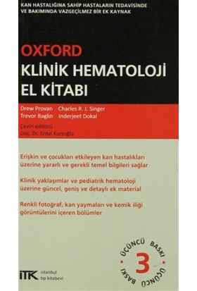 Oxford Klinik Hematoloji El Kitabı - Charles R. J. Singer