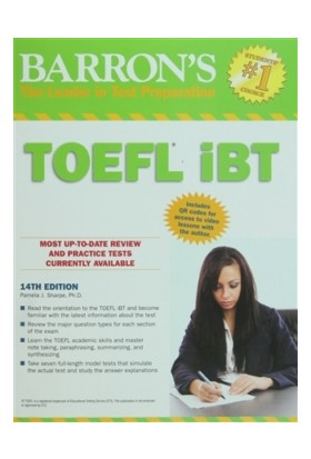 Barron's TOEFL iBT, 14th Edition - Pamela J. Sharpe