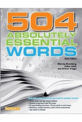 504 Absolutely Essential Words - Arthur Traiger