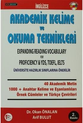 VOCİBOOK İngilizce Akademik Kelime ve Okuma Teknikleri - Arif Bulut