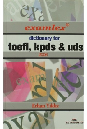 Dictionary For Toefl, Kpds & Uds