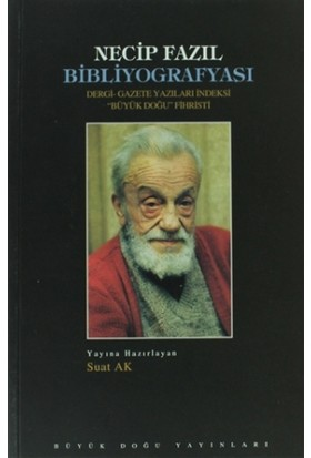 Necip Fazıl Bibliyografyası