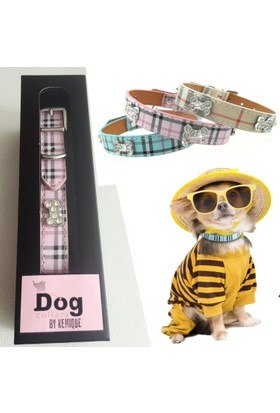 Bb Boyun Tasması - Pembe - Dog Collar By Kemique