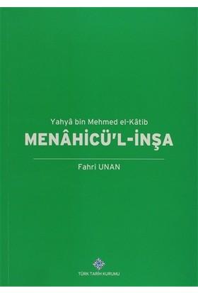 Menahicü'l-İnşa - Yahya Bin Mehmed El-Katib