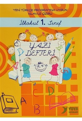 İlkokul 1. Sınıf Yazı Defteri