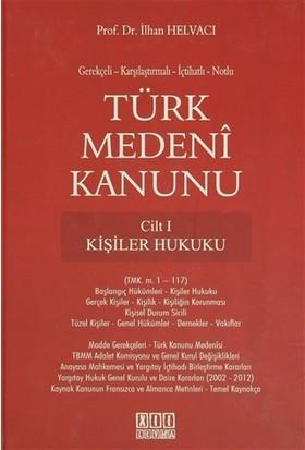 Türk Medeni Kanunu ( 4 Cilt Takım ) - İlhan Helvacı
